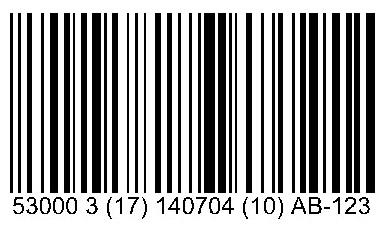 Código de Barras GS1-128