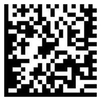 Código de Barras 2D DataMatrix