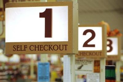 Self Checkout Placas