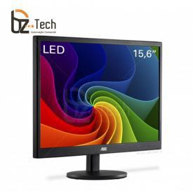 Monitor AOC 15.6 Polegadas LED E1670SWU com Suporte VESA - Alimentado via USB