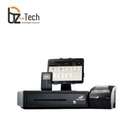 Bemacash PDV Integrado - Tablet com Software para NFC-e, Impressora, Gaveta e Leitor de Cartão