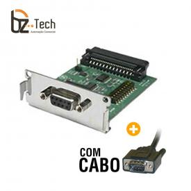 Interface Serial DB9 Bematech para Impressora MP-4200 TH - Com Cabo de Comunicação
