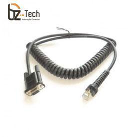 Cabo Datalogic Serial RS232 para Leitor PowerScan - Espiral 2,4 metros