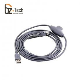 Cabo Datalogic USB para Leitor Magellan 3200VSi Liso - Carga e Comunicação