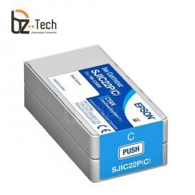 Epson Cartucho Sjic22p Ciano