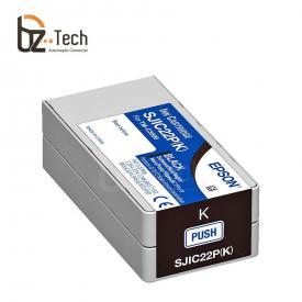 Epson Cartucho Tinta Sjic22p K
