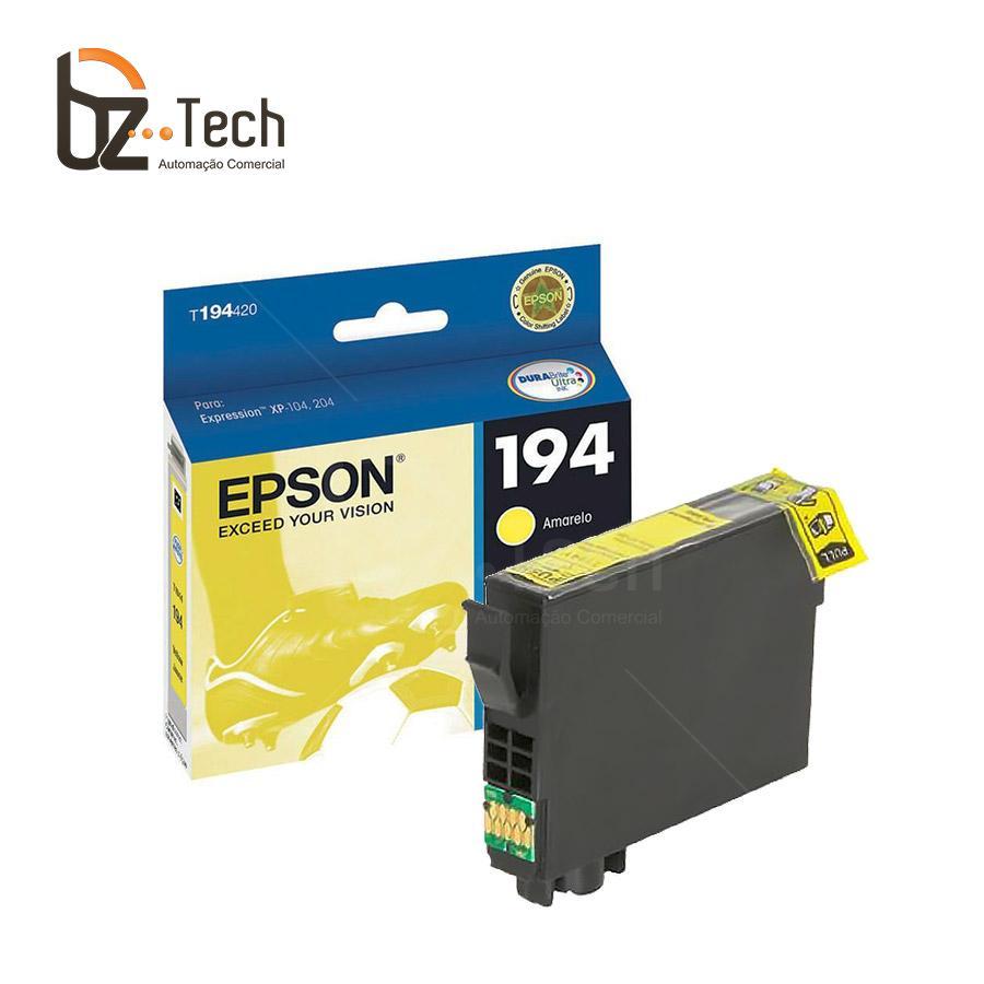Epson Cartucho Tinta T194420 Br Amarelo