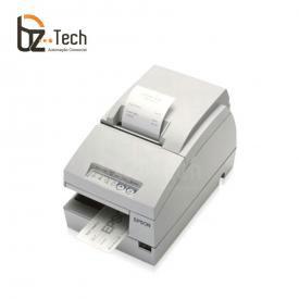 Impressora Não Fiscal Matricial Epson TM-U675 com Serrilha - Impressão de Cheques e Autenticação de Documentos