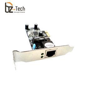 Placa de Rede Flexport PCI Express F2712e - 1 Porta Ethernet RJ45 Gigabit com Garantia Estendida - Slim 80mm