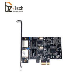 Placa de Rede Flexport PCI Express F2723e - 2 Portas Ethernet RJ45 Gigabit