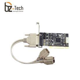 Placa Serial Flexport PCI F1121ex - 2 Portas Seriais RS232 com Alimentação 5V ou 12V