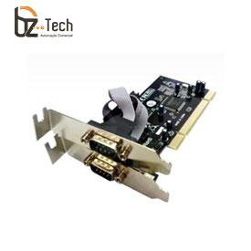 Placa Serial Flexport PCI F1122W - 2 Portas Seriais RS232 - Slim 80mm