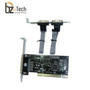 Placa Serial Flexport PCI F1134W - 2 Portas Serials RS232 e 1 Porta Paralela DB25