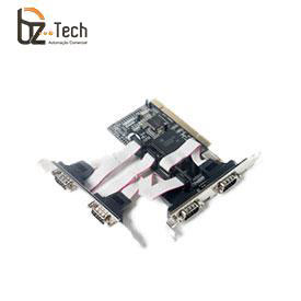 Placa Serial Flexport PCI F1141E - 4 Portas Seriais RS232