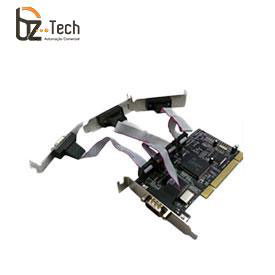 Placa Serial Flexport PCI F1142e - 4 Portas Seriais RS232 - Slim 80mm