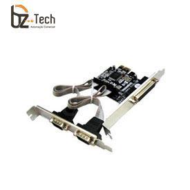 Placa Serial Flexport PCI Express F2134w - 2 Portas Seriais RS232 e 1 Porta Paralela DB25