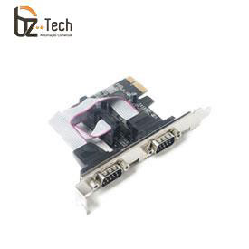 Placa Serial Flexport PCI Express F2121e - 2 Portas Seriais RS232