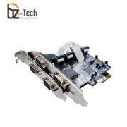 Placa Serial Flexport PCI Express F2141E4 - 4 Portas Seriais RS232