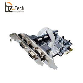 Placa Serial Flexport PCI Express F2141E4 - 4 Portas Seriais RS232