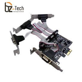 Placa Serial Flexport PCI Express F2142e - 4 Portas Seriais RS232 - Slim 80mm