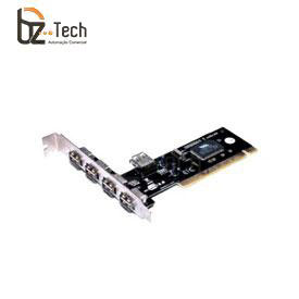 Placa USB Flexport PCI F1557W - 4 Portas USB Externa e 1 Porta USB Interna