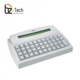 Gertec Teclado Tec 44 Teclas Display Ps2 Bege Display