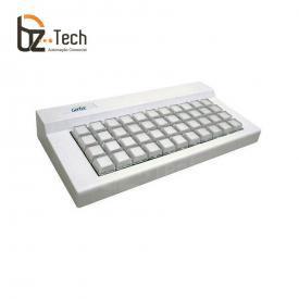 Teclado Gertec TEC 44 Teclas - PS2 Bege