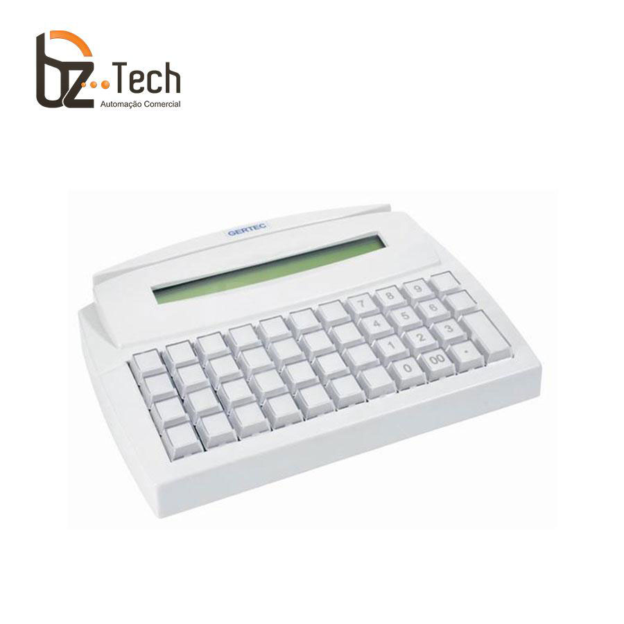Gertec Teclado Tec 44 Teclas Trilha 2 Display Ps2