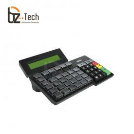 Gertec Teclado Tec 55 Teclas Display Usb