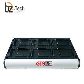 Carregador de Bateria GTS para Coletor Symbol Motorola MC3200 - 6 Posições