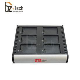 Carregador de Bateria GTS para Coletor MC70 e MC75 - 6 Posições