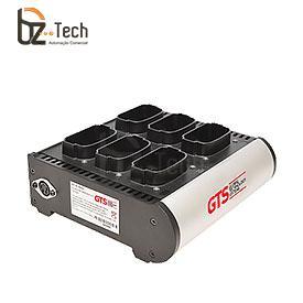 Carregador de Bateria GTS para Coletor Symbol Motorola MC90 e MC91 - 6 Posições