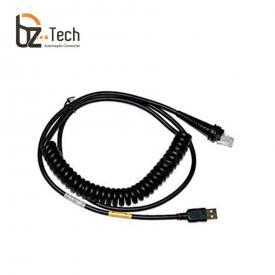 Cabo Honeywell USB para Leitores Voyager, Xenon e Granit - Espiral 3 metros