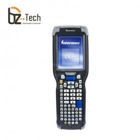 Coletor de Dados Honeywell Intermec CK71 2D QR Code EX25 Longa Distância - Touch 3.5 Polegadas, Qwerty, Wi-Fi, Bluetooth, Windows Embedded 6.6