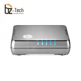 Switch HP 1405-5G Não Gerenciável (HPE) - 5 Portas 10/100/1000
