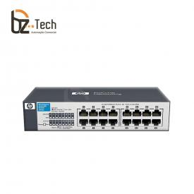 Switch HP OfficeConnect 1410-16 Não Gerenciável (HPE) - 16 Portas 10/100