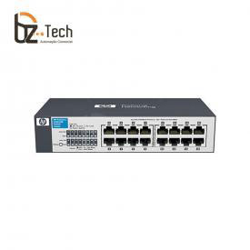 Switch HP OfficeConnect 1410-16G Não Gerenciável (HPE) - 16 Portas 10/100/1000