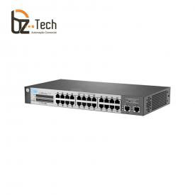 Switch HP OfficeConnect 1410-24-2G Não Gerenciável (HPE) - 24 Portas 10/100 e 2 Portas 10/100/1000