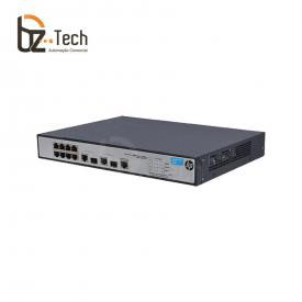 Switch HP OfficeConnect 1910-8 Gerenciável (HPE) - 8 Portas 10/100 PoE+ e 2 Portas SFP