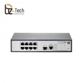 Switch HP OfficeConnect 1910-8G Gerenciável (HPE) - 8 Portas 10/100/1000 e 1 porta SFP