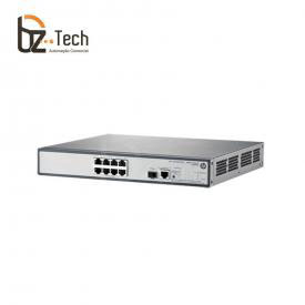 Switch HP OfficeConnect 1910-8G Gerenciável (HPE) - 8 Portas 10/100/1000 PoE+ e 1 Portas SFP