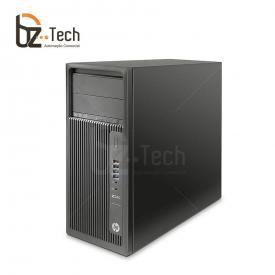 Workstation HP Z240 Tower - Intel Xeon E3-1225v5 3.3GHz, 8GB, 1TB, Nvidia Quadro K620, Windows 10 Pro - Mouse e Teclado