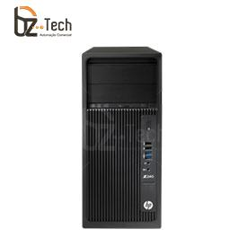 Workstation HP Z240 Tower - Intel Xeon E3-1225v5, 16GB, 1TB, Nvidia Quadro K620, Windows 10 Pro - Mouse e Teclado