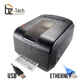 Foto Impressora Etiquetas Pc42t Ethernet Meia Polegada