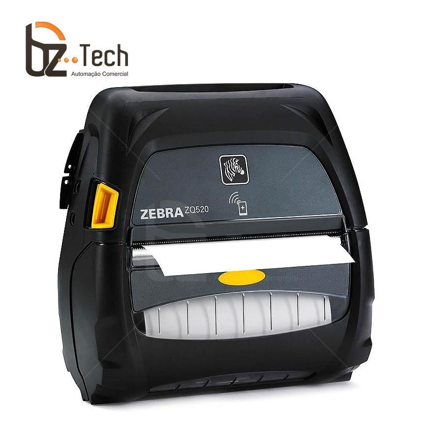 Impressora Etiquetas Portatil Zq520 203dpi Bluetooth Bateria Estendida