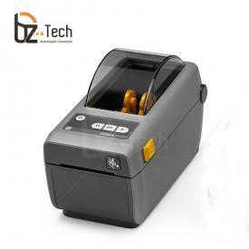 Impressora Etiquetas Zd410 203dpi Ethernet Preta Lado