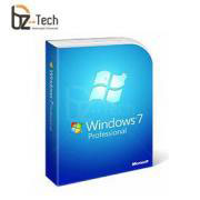 Software Microsoft Windows 7 Professional 32 bits BR - Licença OEM (Necessita CPU Vinculado)