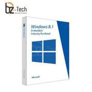 Software Microsoft Windows Embedded 8.1 Industry Pro Retail - Licença OEM (Necessita CPU Vinculado)