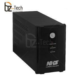 Nobreak NHS Interactive Compact Plus III EXT 1500VA Bivolt - 2 Baterias 9Ah com Proteção para Fax/Net