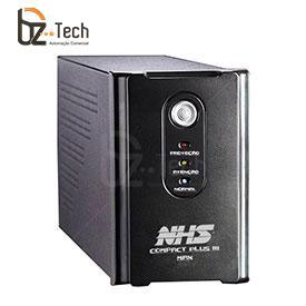 Nobreak NHS Interactive Compact Plus III USB 1200VA Bivolt - 2 Baterias 7Ah